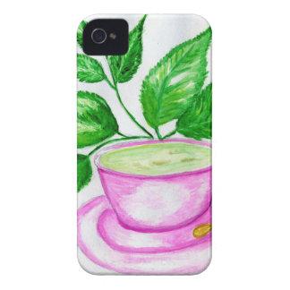 Funda Para iPhone 4 De Case-Mate Té verde Art2