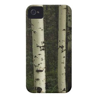 Funda Para iPhone 4 De Case-Mate Textura de un retrato del bosque