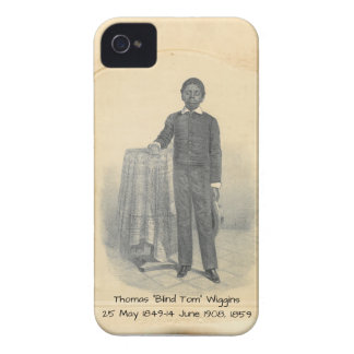 """Funda Para iPhone 4 De Case-Mate Thomas """"Tom ciego"""" Wiggins, 1859"""