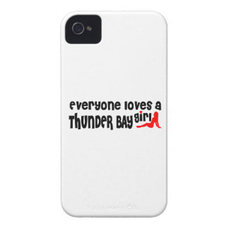 Funda Para iPhone 4 De Case-Mate Todos ama a un chica de Thunder Bay