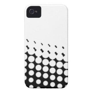 Funda Para iPhone 4 De Case-Mate Tono medio diagonal de B y de W