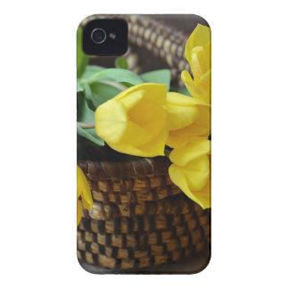 Funda Para iPhone 4 De Case-Mate tulipanes