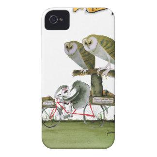 Funda Para iPhone 4 De Case-Mate unidad hostil del roedor de Yorkshire del amor