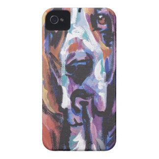 Funda Para iPhone 4 De Case-Mate Usted es mi corazón de Basset Hound