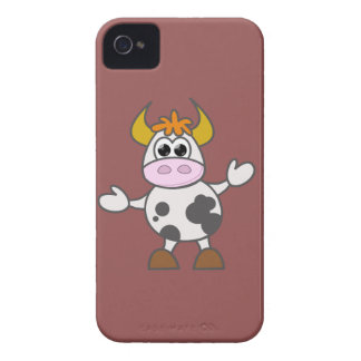 Funda Para iPhone 4 De Case-Mate Vaca desconcertada