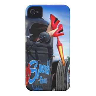 Funda Para iPhone 4 De Case-Mate Velocidades que remolcan el Rockabilly Betty del