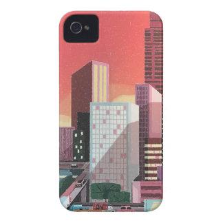 Funda Para iPhone 4 De Case-Mate Viaje del vintage de Los Ángeles