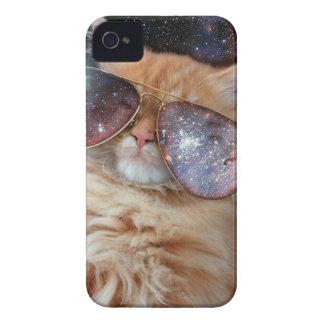 Funda Para iPhone 4 De Case-Mate Vidrios del gato - gato de las gafas de sol -
