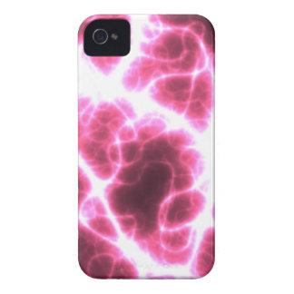 Funda Para iPhone 4 Descarga eléctrica en rosa