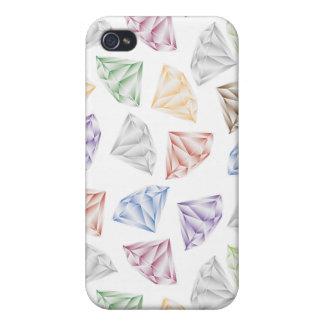 Funda Para iPhone 4 Diamantes coloridos para mi amor
