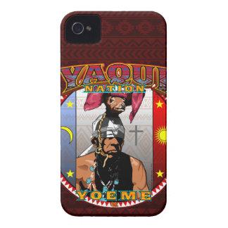 Funda Para iPhone 4 Diseño del bailarín de los ciervos de Yaqui Yoeme