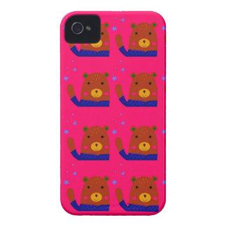 Funda Para iPhone 4 Diseño del rosa de los peluches