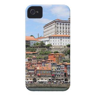 Funda Para iPhone 4 Edificios históricos y río, Oporto, Portugal