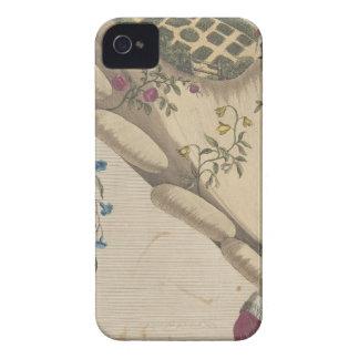 Funda Para iPhone 4 El jardín de flores - Matthew Darly