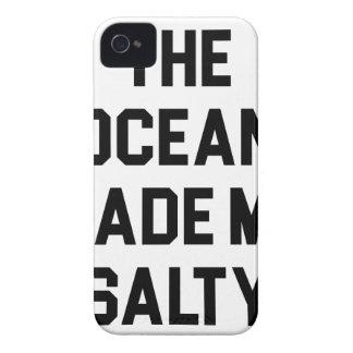 Funda Para iPhone 4 El océano me hizo salado
