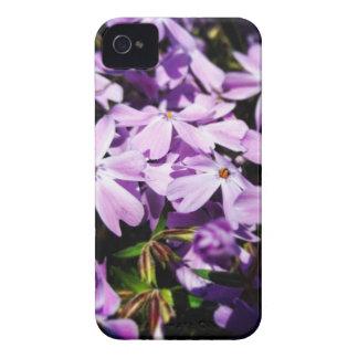 Funda Para iPhone 4 El remiendo púrpura de la flor