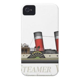 Funda Para iPhone 4 El vapor de paleta Waverley de Tony Fernandes