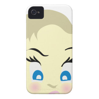 Funda Para iPhone 4 emoji del bebé - agresivo
