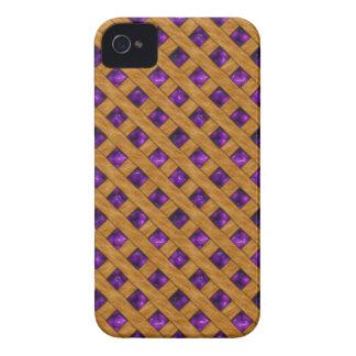 Funda Para iPhone 4 Empanada púrpura