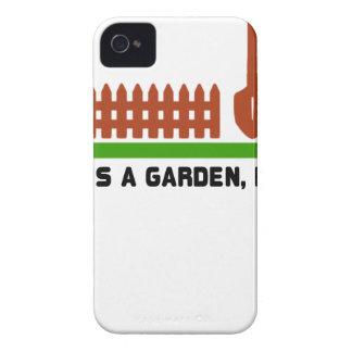 Funda Para iPhone 4 Empuje de la vida y del jardín él