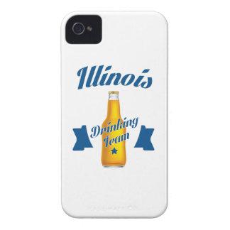 Funda Para iPhone 4 Equipo de consumición de Illinois