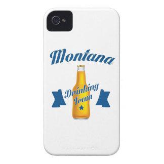 Funda Para iPhone 4 Equipo de consumición de Montana