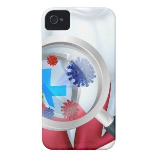 Funda Para iPhone 4 Escudo del diente de la protección