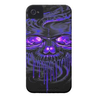 Funda Para iPhone 4 Esqueletos púrpuras de Nerpul