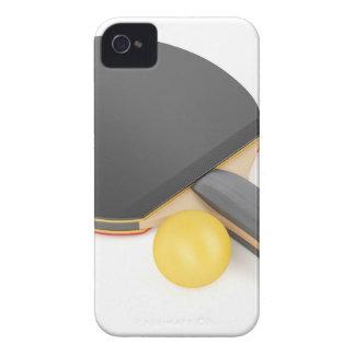Funda Para iPhone 4 Estafa y bola de tenis de mesa