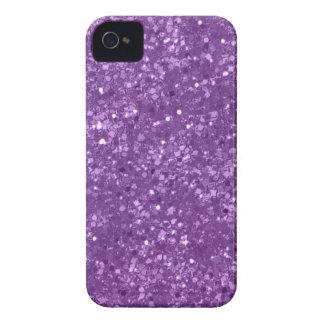 Funda Para iPhone 4 Falso brillo púrpura