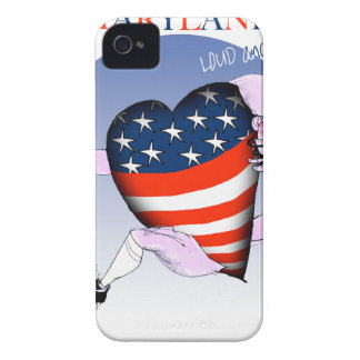 Funda Para iPhone 4 fernandes tony ruidosos y orgullosos de Maryland,