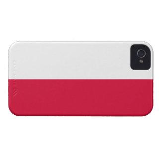 Funda Para iPhone 4 Flaga Polski - bandera polaca