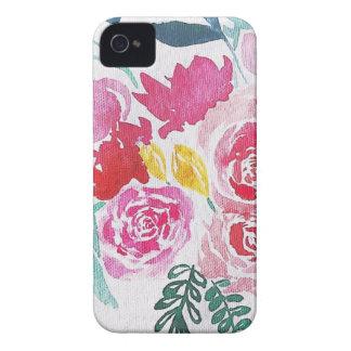 Funda Para iPhone 4 Flores de la acuarela