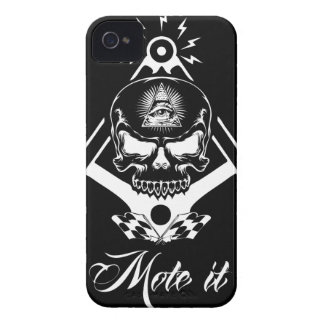 Funda Para iPhone 4 Freemason-Widows-Sons-Masonic-Hotrod-Logo-20160407