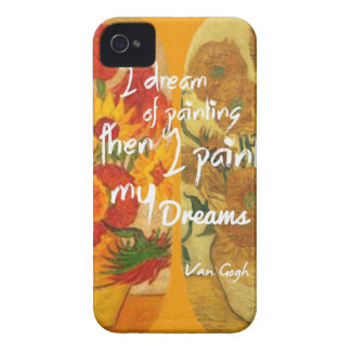 Funda Para iPhone 4 Girasoles felices y tristes