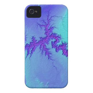 Funda Para iPhone 4 Gran Cañón del estilo brillante de la nebulosa de