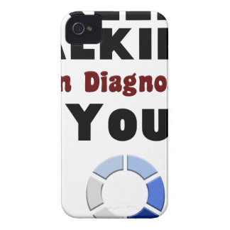 Funda Para iPhone 4 guarde el hablar diagnosticándole camiseta del