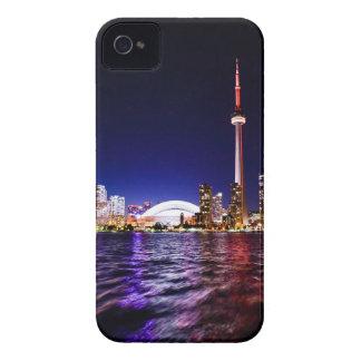 Funda Para iPhone 4 Horizonte de la noche de Toronto