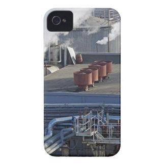 Funda Para iPhone 4 Infraestructura, edificios y tubería industriales