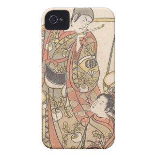 Funda Para iPhone 4 Japonés Woodprint