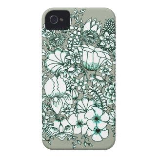 Funda Para iPhone 4 Jardín de flores