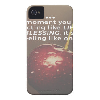 Funda Para iPhone 4 La vida es una bendición