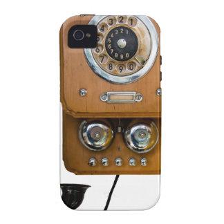 Funda Para iPhone 4 línea teléfono de la tierra del dial rotatorio del