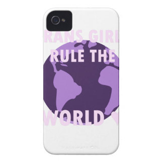 Funda Para iPhone 4 Los chicas del transporte gobiernan el mundo (v1)
