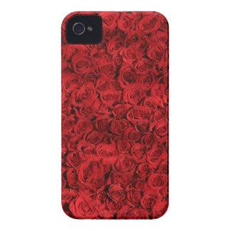 Funda Para iPhone 4 Los rosas dulces son rojos