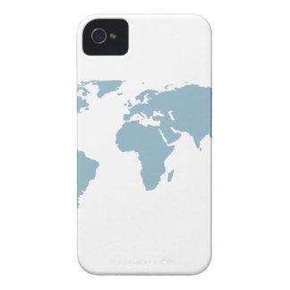 Funda Para iPhone 4 Mapa del mundo
