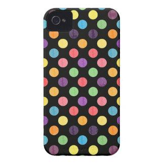 Funda Para iPhone 4 Modelo de puntos precioso IX