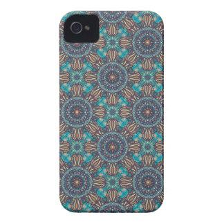 Funda Para iPhone 4 Modelo floral étnico abstracto colorido de la