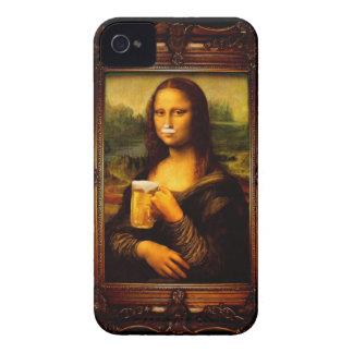 Funda Para iPhone 4 Mona Lisa - cerveza de Mona Lisa - Lisa-cerveza