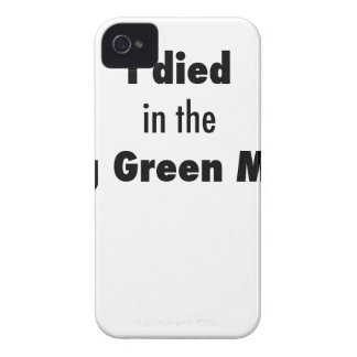 Funda Para iPhone 4 Morí en la masacre de Bowling Green